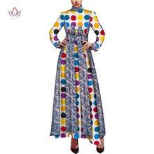 Женское платье с длинным рукавом danshiki длинное для свадебной