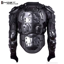 GHOST RACING Motorcycle Armor Jacket Motocross Racing Moto Clothing Back Chest Shoulder Full Body Protector Protective Gear