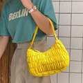 Retro sacos para as mulheres na moda do vintage náilon pequena bolsa de ombro feminino axilas sacos casuais mini embreagem bolsa de luxo e bolsas