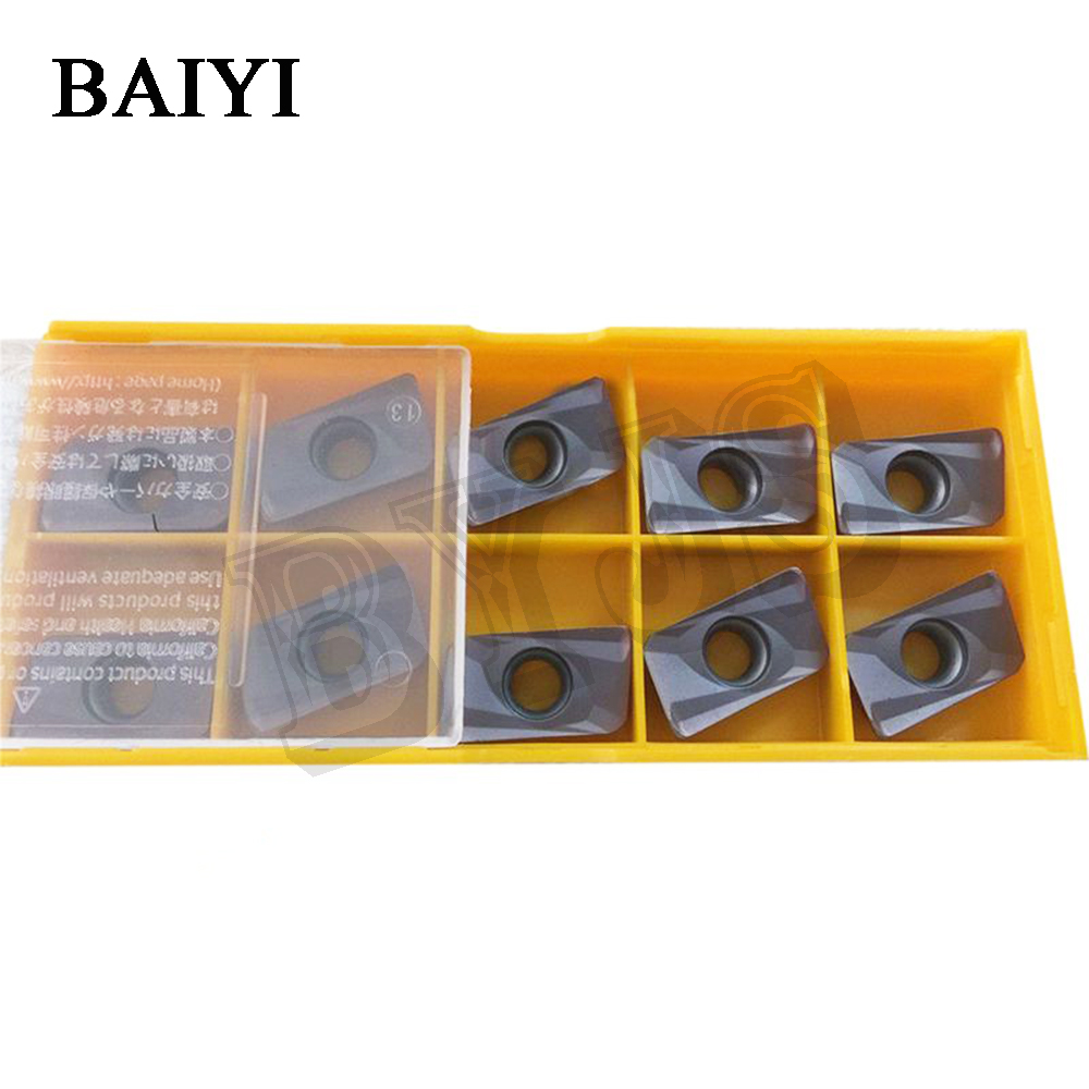 10Pcs APMT1604PDER-H2 VP15TF Carbide Inserts Turning Tool APMT 1604 Face Mill Lathe Tools Cutter CNC Tool