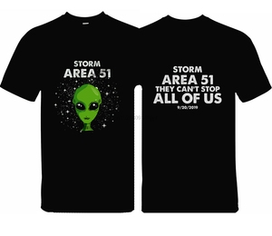 Area 51 Alien T Shirt(China)