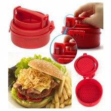 Ручные Формы гамбургера пресс для котлет пресс шеф-повара котлеты набивные пластиковые форма для гамбургера гриль кухонные инструменты