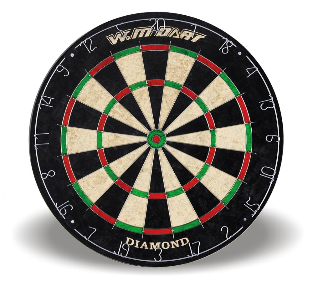 Winmax Indoor Game 18 Inch Professional  Advanced Shaver Dartboard With A Set Steel Tip Darts