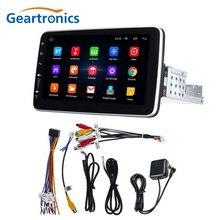 1 Din Android 9.1 samochodowy odtwarzacz multimedialny 9/10 cal 360 stopni obrotowy ekran dotykowy wideo stereofoniczne GPS WiFi Radio samochodowe odtwarzacz MP5
