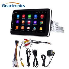 1 Din Android 9.1 Car Multimedia Player 9/10 pollici 360 gradi Touch Screen girevole Video Stereo GPS WiFi Auto Radio lettore MP5