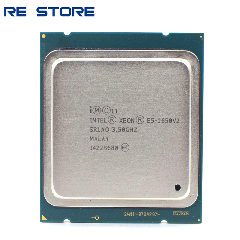 Intel Xeon E5 1650 V2 3.5GHz 6 Core 12Mb Cache Socket 2011 CPU Processor|CPUs| - AliExpress
