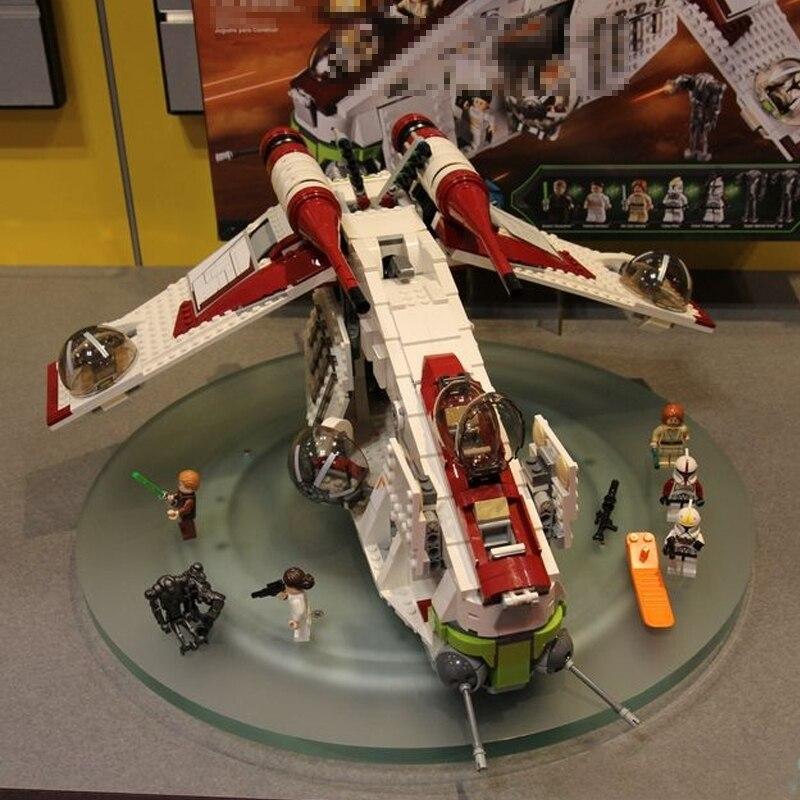Lepinblocks 05041 Star Wars Compatible Legoinglys StarWars 75021 Republic Gunship  Educational Blocks Christmas Gifts For Gift