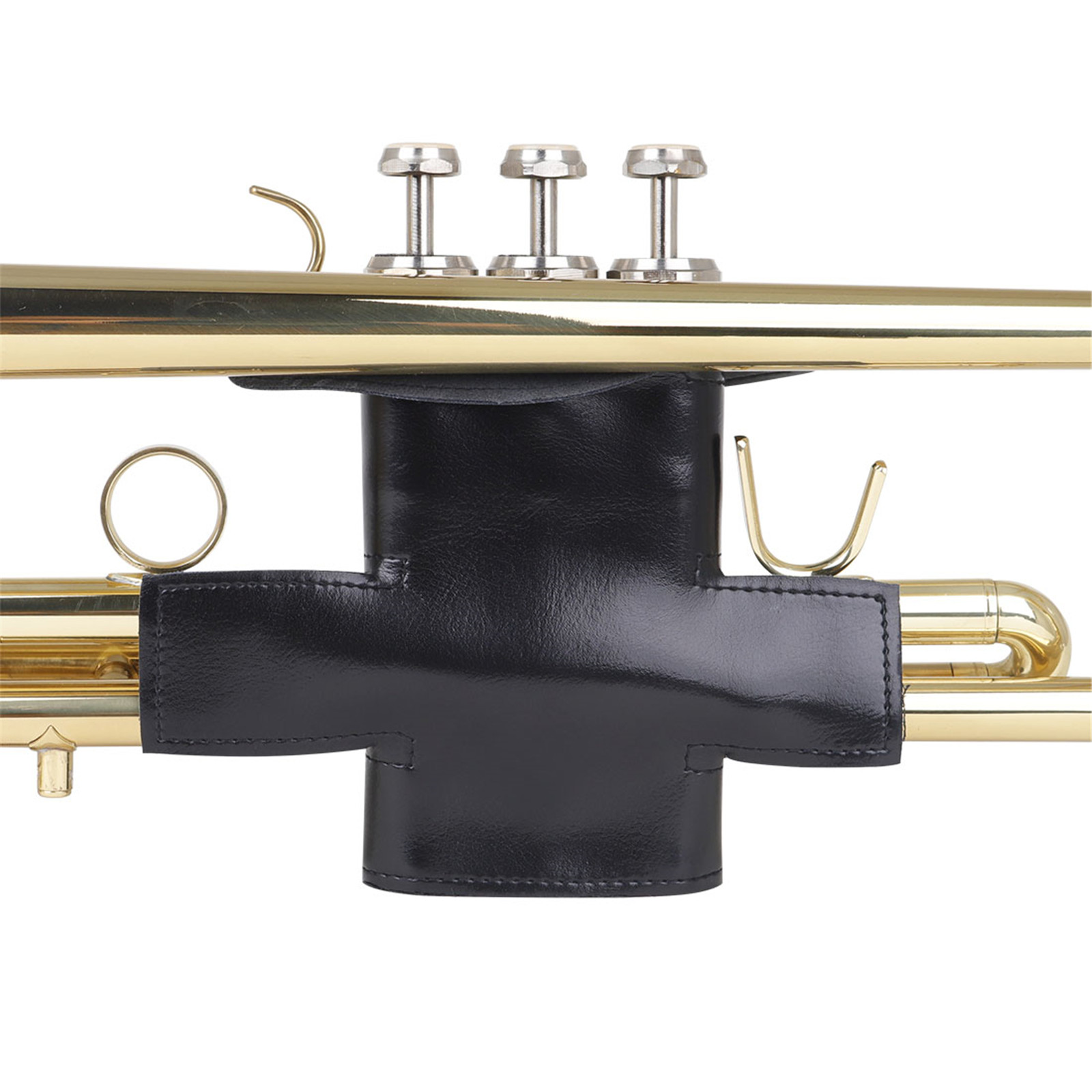 Black Soft Synthetic PU Leather Professional Trumpet Protective Cover Case Trumpet Parts Accessories