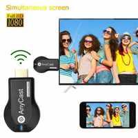 Nuovo TV Stick 1080P Senza Fili WiFi TV Display Dongle Ricevitore Per AnyCast M2 Plus Per Airplay 1080P HDMI TV Bastone DLNA Miracast