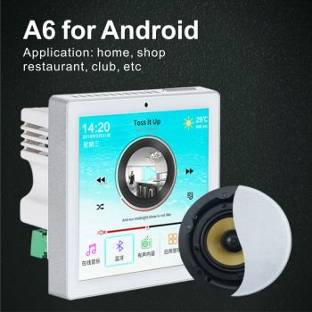 WIFI Bluetooth Wall system android Amplifier Audio Home Theater Amplifiers Mini Amplificador Preamplifier Board SUMWEE