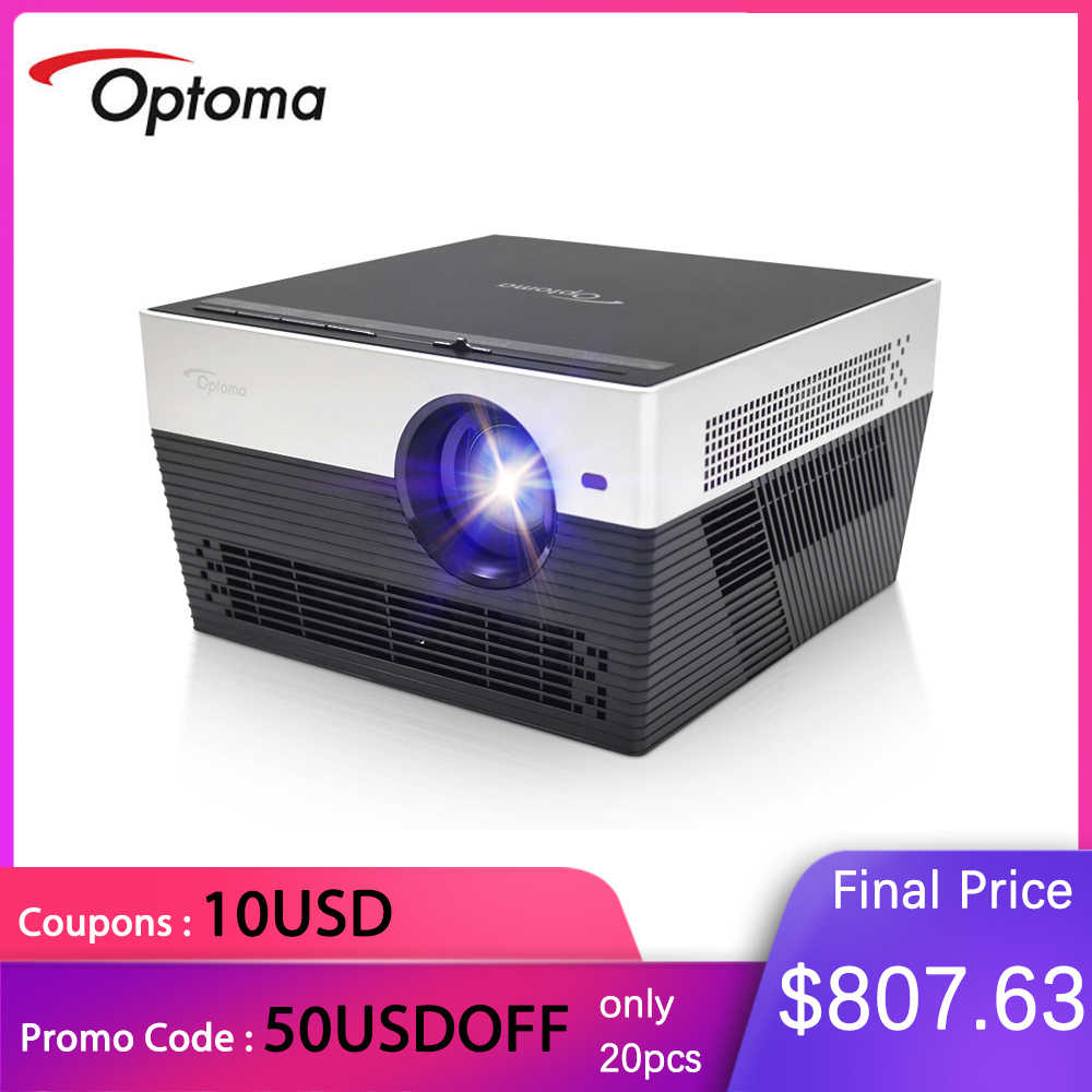 Optoma UHL55 I5 DLP 4K Proyektor dengan Android WIFI Real 4K TV Home Cinema 3D Video Dolby 5.1 videoprojecteur Projector HDMI USB
