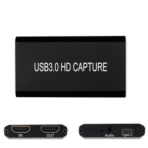 HDMI Video Capture Card USB 3.0 type c,HD 1080P 60fps Game Video Recorder for PS3 PS4 TV BOX Twitch OBS Youtube Live Streaming