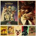 Постер из фильма Kill Bill/Fight Club/BeetleJuice, ретро крафт-бумага, Постер для гостиной, бара, декоративные наклейки, настенная живопись