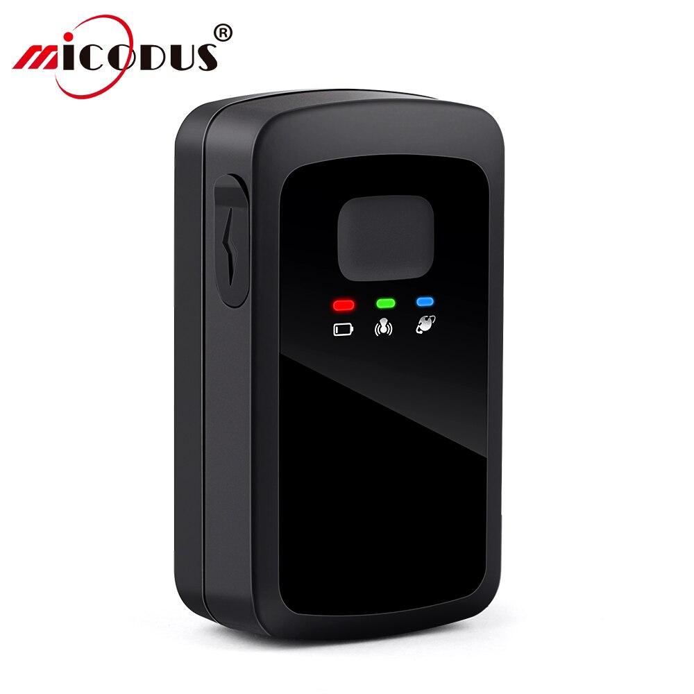 MP60 gps трекер портативный мини gps трекер для автомобиля в реальном времени отслеживание 20 гео забор отслеживание автомобиля 200 дней в режиме о...