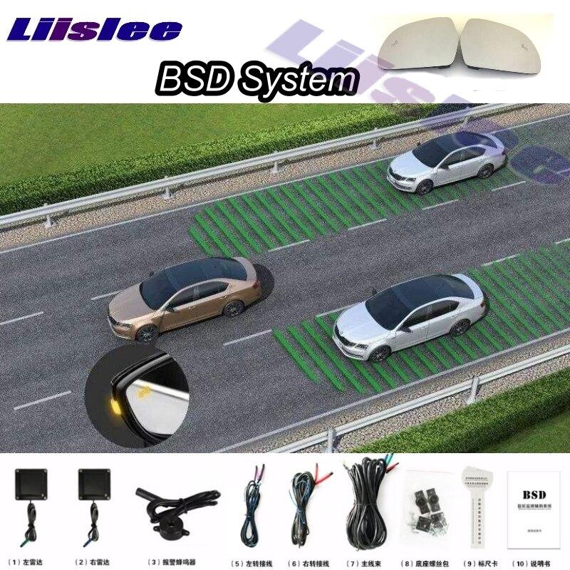 Car BSD BSA BSM Blind Spot Detection Driving Warning Safety Radar Alert Mirror For Mazda 3 Axela BM BN 2013 2014 2015 2016 demo