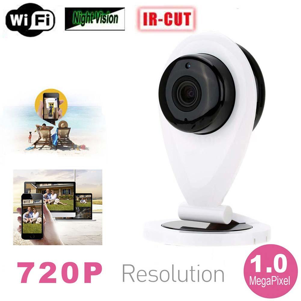 Mini HD Wifi Wireless IP Camera Security Network IR Night Vision Webcam Cam