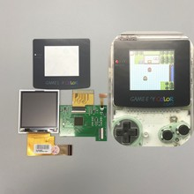 ЖК дисплей 2,2 дюйма GBC высокой яркости для Gameboy COLOR GBC, plug and play без сварки и резки корпуса.