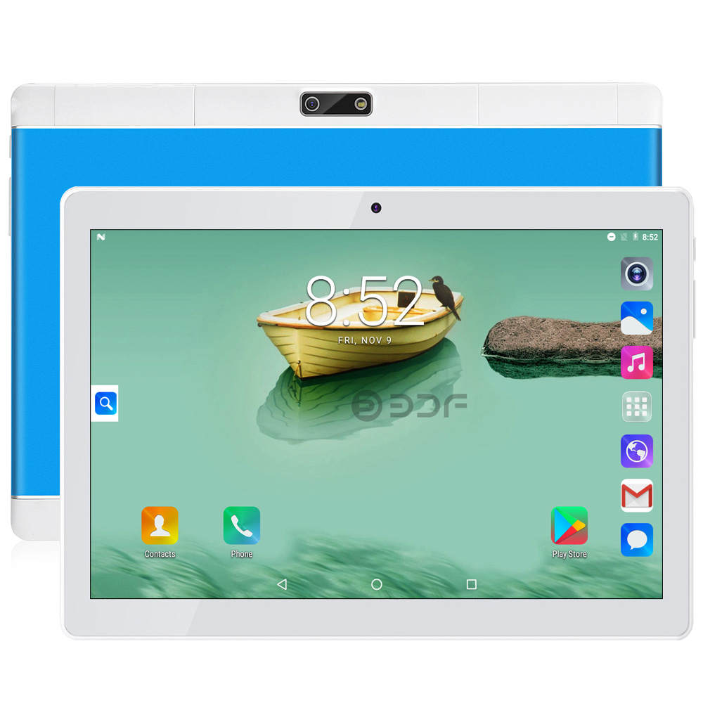 2019 New 10 Inch 4G LTE Tablets Original Design 3G Phone Call Android 7.0 Octa Core 4G+64G Android Tablet Pc WiFi Bluetooth