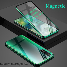 For OPPO Find X2 Case 360 Front+Back dou