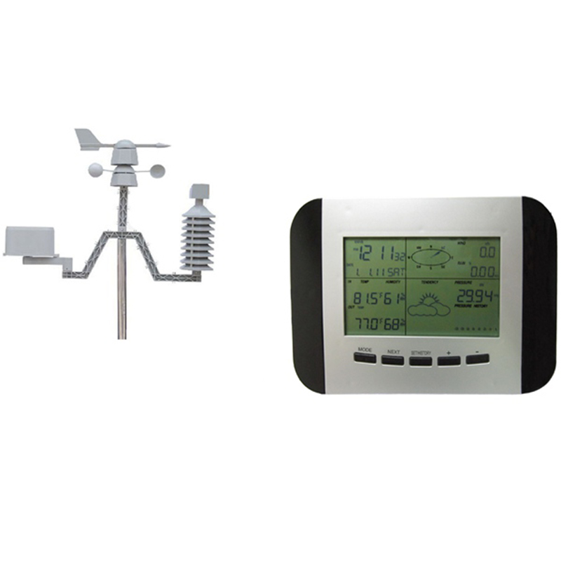 WS1041 Weather Forecaster Weather Station Weather Station Wind Speed Wind Direction Rain Gauge Wireless Temperature and Hygromet фото