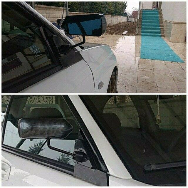 Автомобильное левое и правое зеркало заднего вида, автомобильное внешнее крыло, верхнее гоночное боковое зеркало для BRZ Scion FR S 86 Mustang, Автомобильное зеркало заднего вида