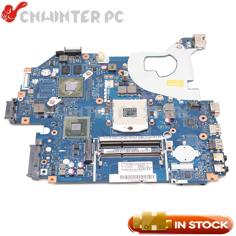 NOKOTION MB.RCS02.004 MBRCS02004 Acer aspire 5750 5750G 노트북 마더 보드 P5WE0 LA-6901P HM65 DDR3 GT520M image