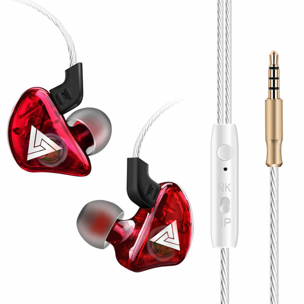 2019 אוזניות QKZ CK5 באוזן אוזניות סטריאו מירוץ ספורט אוזניות רעש ביטול אוזניות מחשב, tablet, מחשב נייד, נייד, PS4