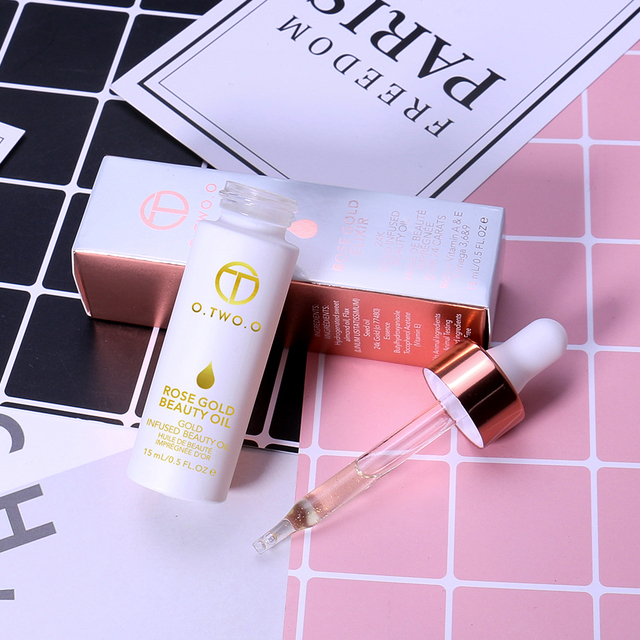 O.TWO.O Face Primer Makeup Base Beauty Oil Makeup Essential Oil Before Foundation Winter Moisturizing Smooth Foundation Base 6