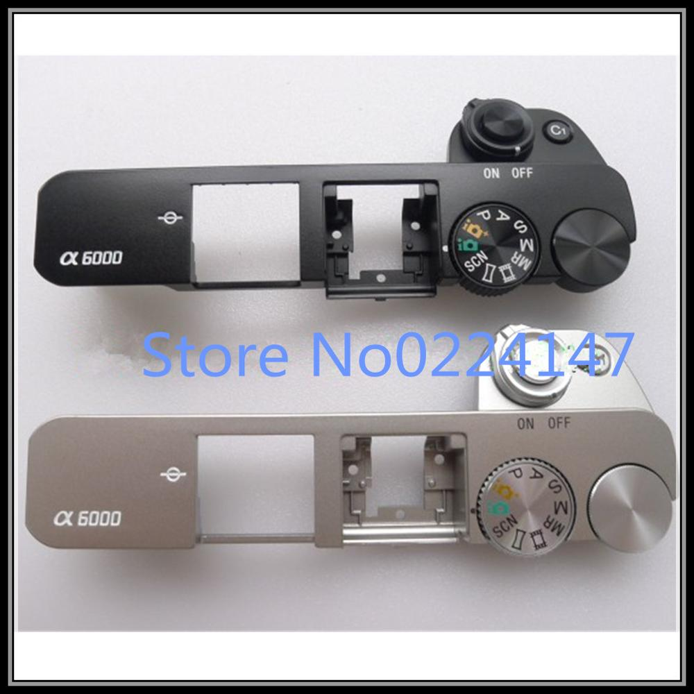 New original  For Sony ILCE-6000 ILCE-6000L A6000 Top Cover Case Service Block Ass'y With Shutter Mode Button Unit