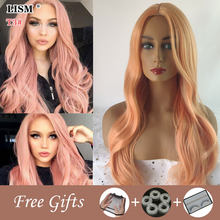 Toupee Hair for Women Korean Wig 30 Inch Wigs Peruca Loira Peluca Mujer Pelo Natural Pastel Lolita Cosplay Pruiken Lang Haar(China)