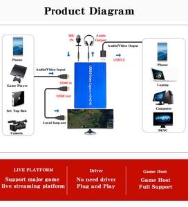 Image 4 - 4K Hdmi Naar Usb 3.0 Video Capture Card Dongle 1080P 60fps Hd Video Recorder Grabber Voor Obs Vastleggen game Game Capture Card Live