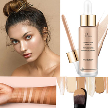 Professional Moisturizing Concealer Liquid Foundation Cover Dark Circles Acne and Easy to Apply Makeup Durable Concealer dermacol brand high quality concealer liquid foundation cover freckles acne marks waterproof professional primer cosmetic makeup