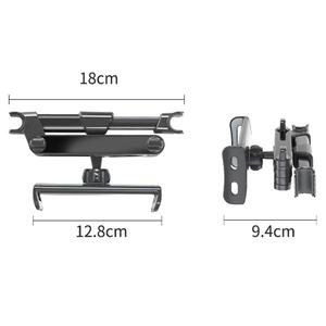 Image 4 - 7 14 Inch Adjustable Car Tablet Stand Holder 360 Rotation Car Rear Pillow Holder Auto Tablet Car Stand Seat Back Bracket