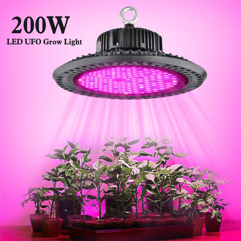 100w 150w 200w Ufo Led Grow Light Full Spectrum Waterproof Phyto Lamp For Indoor Outdoor Plant Growth Lamp Grow Tent Aliexpress