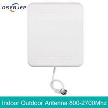 4g 야외 내부 안테나 2g 3G 4G LTE 패널 실내 안테나 800 2700 N 여성 휴대 전화 부스터 리피터 안테나