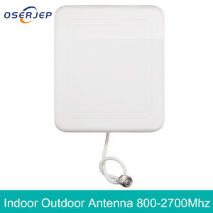 Image 1 - 4g חיצוני פנימי אנטנת 2g 3G 4G LTE פנל מקורה אנטנה 800 2700 עם N נשי טלפון סלולרי בוסטרים משחזר אנטנה