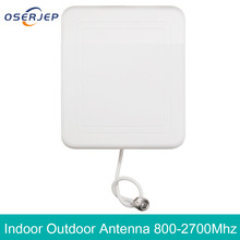 4g outdoor internal antenna 2g 3G 4G LTE Panel indoor antenna  800 2700 with N female cell phone booster repeater antenna