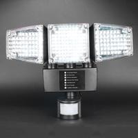 188 LED Solar Security Light With Motion Sensor Security Flood Light Home Garden Wall Road Courtyard Garage