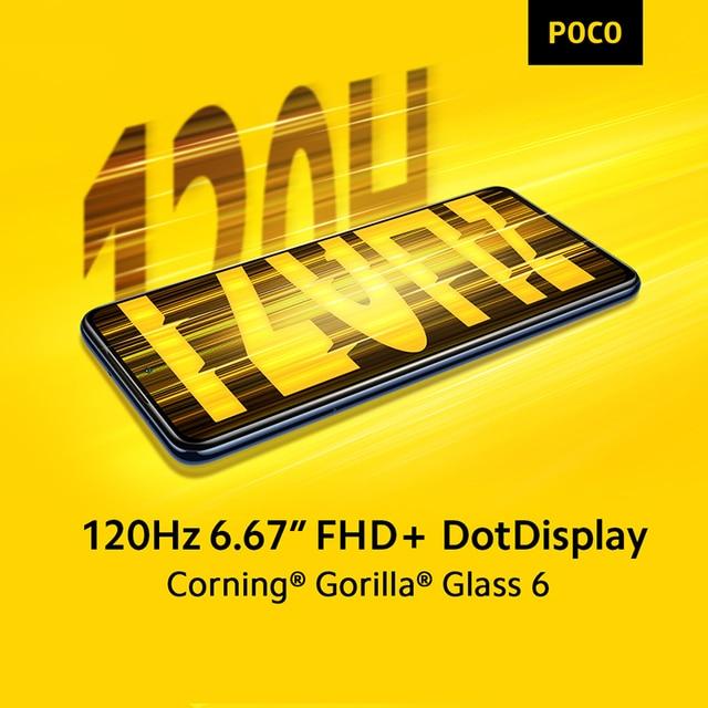 Global Version In Stock POCO X3 Pro Snapdragon 860 Smartphone 6+128GB 120Hz DotDisplay 33W Charging 5160mAh Quad AI Camera 5