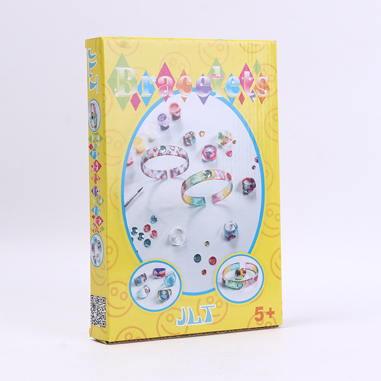 Ring Bracelet Set Children DIY Educational Interactive Plastic/Plastic Toys