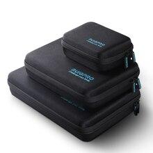 المحمولة حقيبة التخزين للصدمات حمل صندوق واقية ل DJI oomo عمل GoPro بطل 8 7 6 5 الرياضة كاميرا اكسسوارات