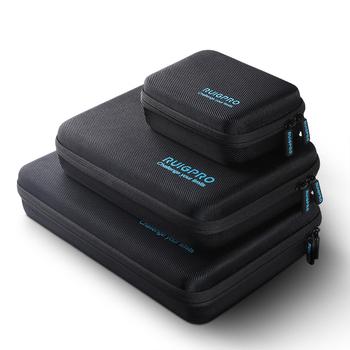 Przenośna pamięć masowa torba odporna na wstrząsy futerał do przenoszenia pudełko ochronne dla DJI Osmo działania GoPro Hero 8 7 6 5 akcesoria do kamer sportowych tanie i dobre opinie ruigpro Bag For GoPro OSMO Ciężka torba Bundle 3 NYLON GoPro DJI OSMO
