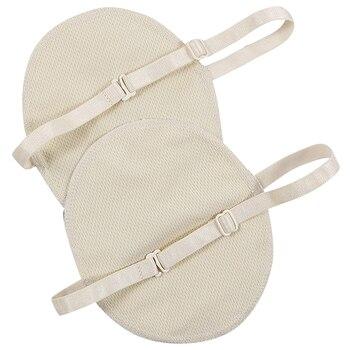 1 Pair Underarm Sweat Shield Pad Washable Armpit Sweat Absorbing Guards Shoulder Strap Reusable Underarm Sweat Pad Summer Sweat