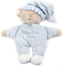 Pink/Blue Lovely Gift Baby Soft Cute Bear Plush Toy Velvet Bedtime Doll 30*32cm