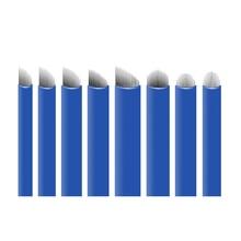 0.2ミリメートル12/14/16 u字型針アートメイク眉毛microblading針3D刺繍マニュアルタトゥーペン