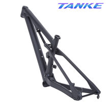 Tanke 29er Boost T800 Full Suspension Carbon Alle Mountainbike Frame 142/148 Mm × 12 Mm Fiets In shock Reizen Xc Enduro 27.5 + Mtb(China)