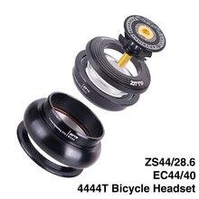 Mtb bicicleta fone de ouvido 44mm zs44 ec44 cnc 1 1/8