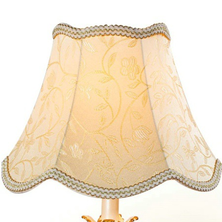 European-Style Court Lampshade Fabric Table Lamp Shade Accessories Hotel Bedroom Bedside Floor Lamp Shell Cover