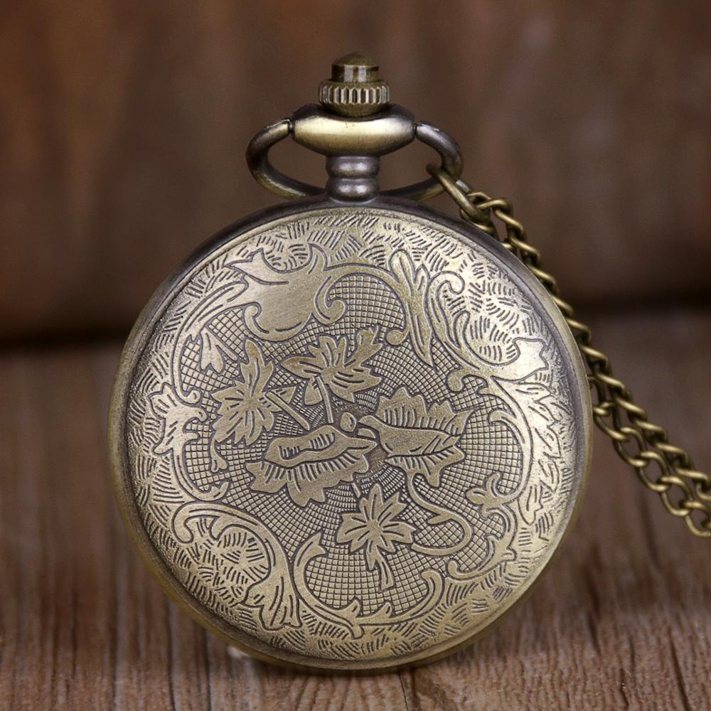 Antique-Bronze-Dragon-Pattern-Quartz-Pocket-Watch-Vintage-Pendant-Necklace-Men-Women-Clock-Gifts-Fob-Watch