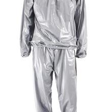 Качественный Сверхмощный Фитнес-костюм для похудения, для пота, сауны, для упражнений, для тренажерного зала, анти-рип